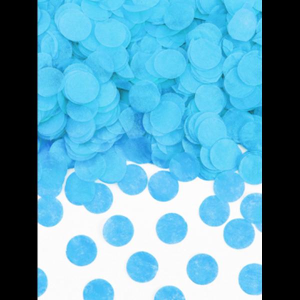 15g Papierkonfetti - Blau