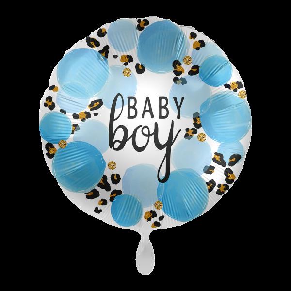 1 Ballon - Baby Boy Leopard
