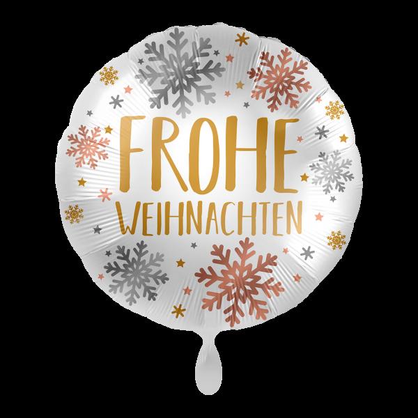 1 Ballon - Weihnachten Snowflakes