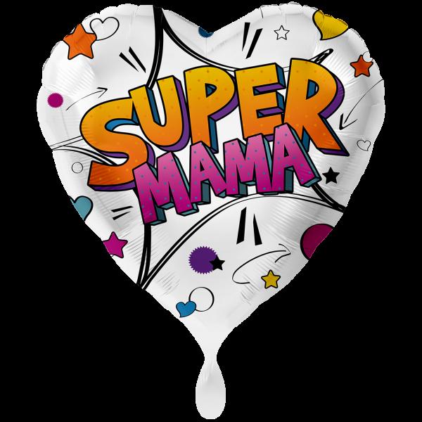 1 Ballon XXL - Super Mama