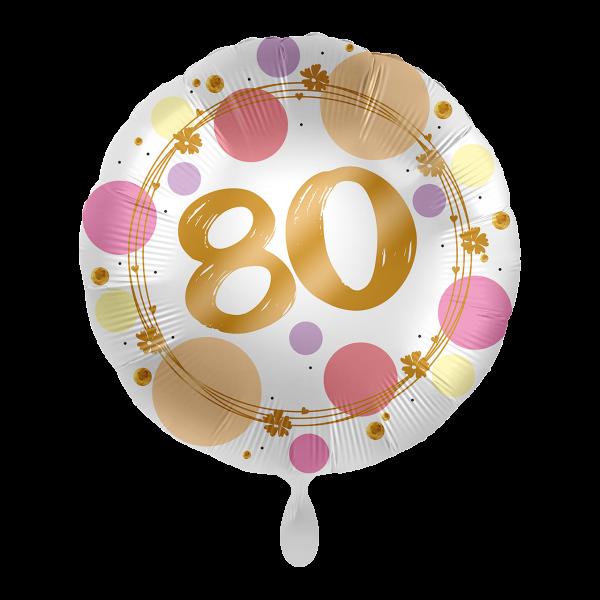 1 Ballon - Shiny Dots 80