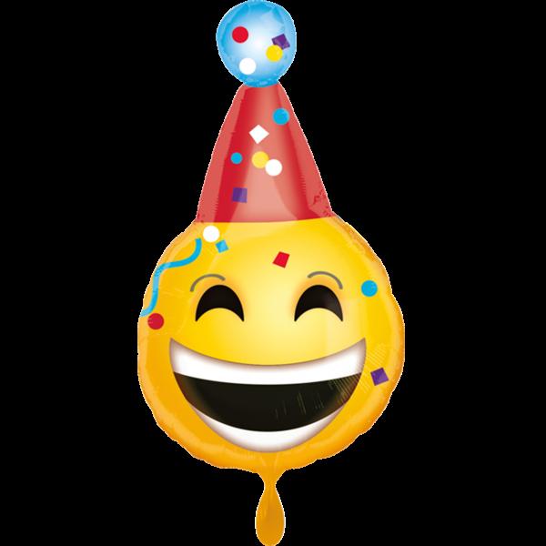 1 Ballon - Bday Emoji
