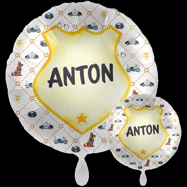 1 Ballon XXL mit Text - Police Academy