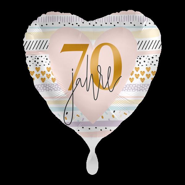 1 Ballon - Creamy Blush 70