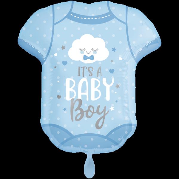 1 Ballon XXL - Baby Boy Onesie