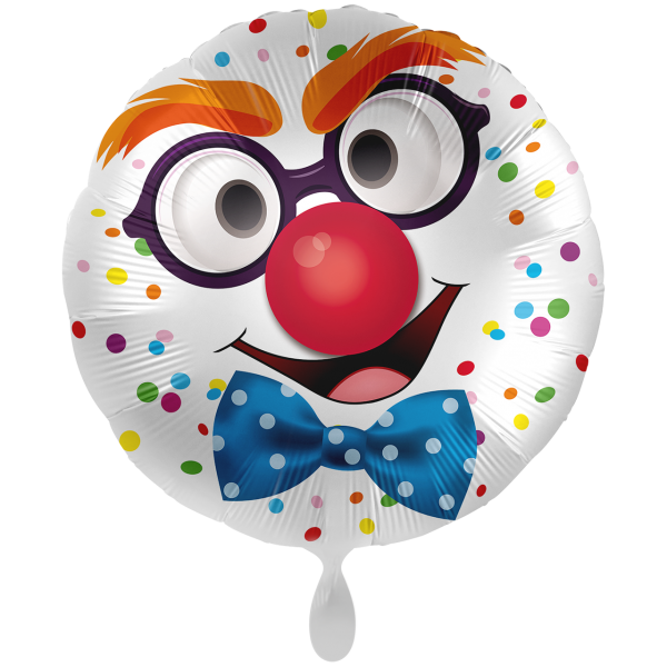 1 Ballon XXL - Happy Clown