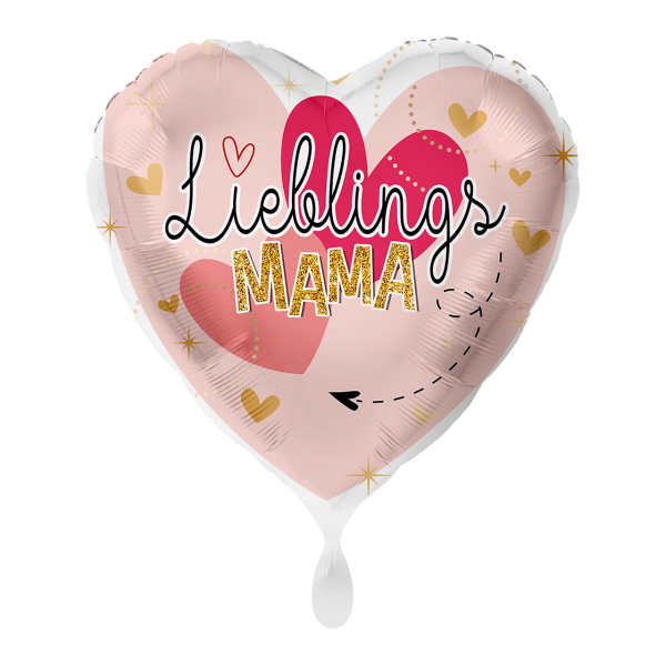 1 Ballon - Lieblingsmama