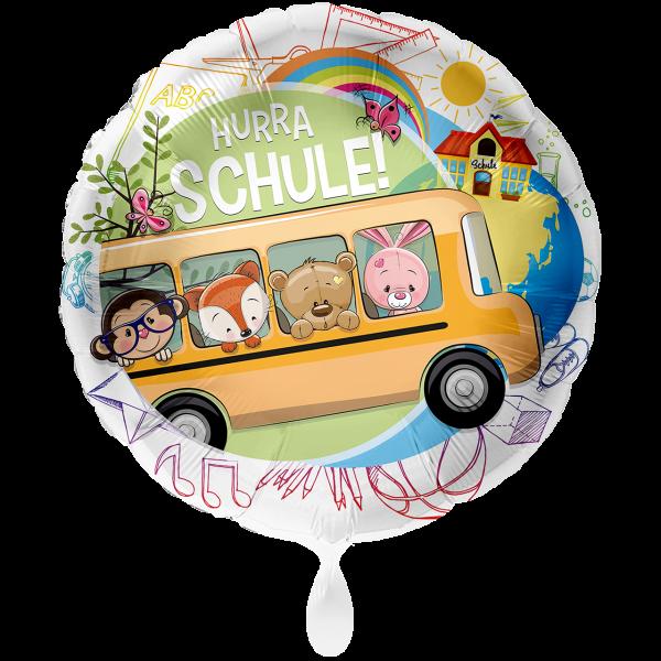 1 Ballon XXL - Schulbus