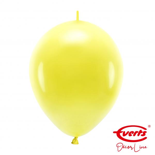 50 Girlandenballons - DECOR - Ø 30cm - Sunshine Yellow