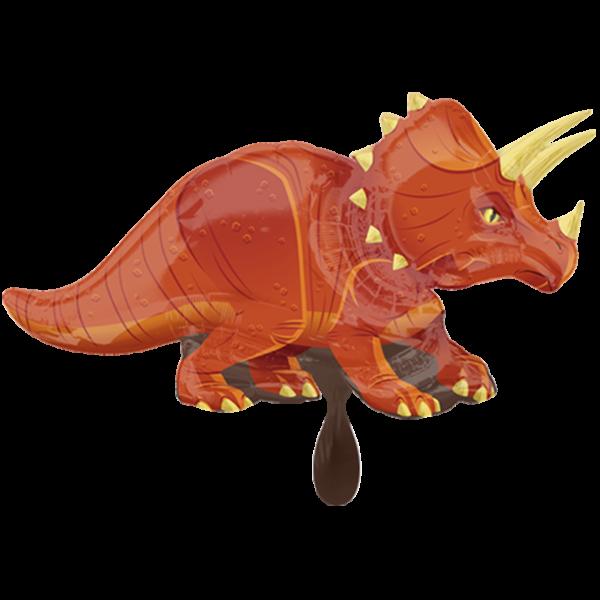 1 Ballon XXL - Triceratops
