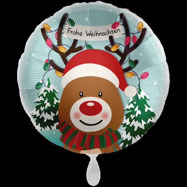 1 Ballon XXL - Christmas Reindeer