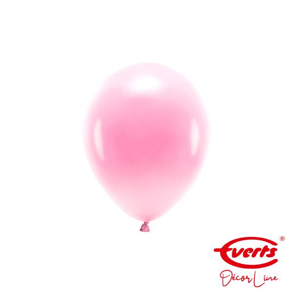 100 Miniballons - DECOR - Ø 13cm - Pearl & Metallic - Pretty Pink (Rosa)