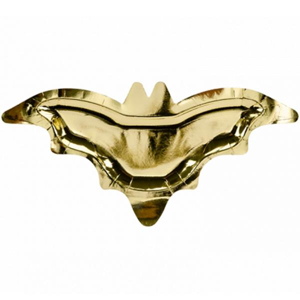 6 Pappteller Trend - Ø 37cm - Bat