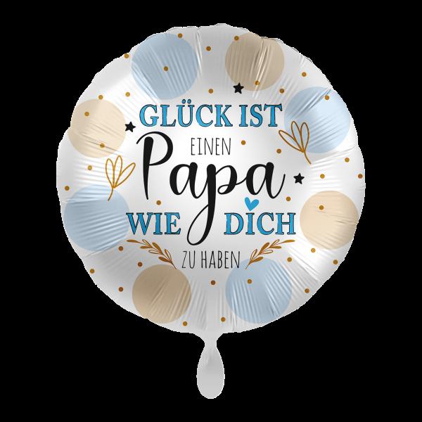 1 Ballon - Papa Glück