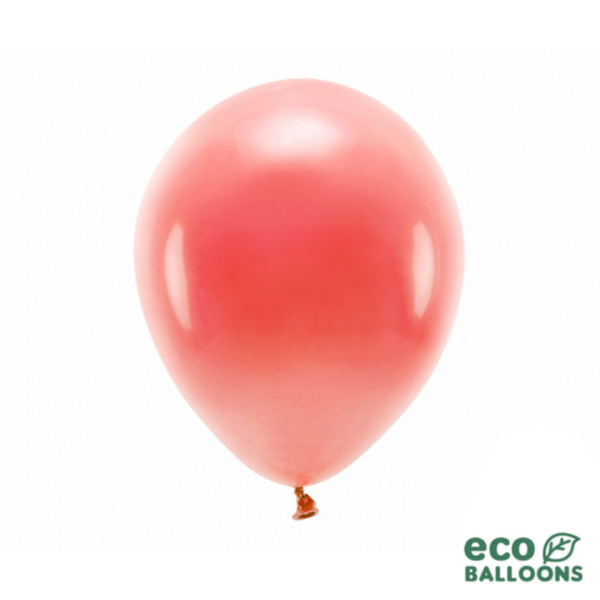 100 ECO-Luftballons - Ø 30cm - Coral