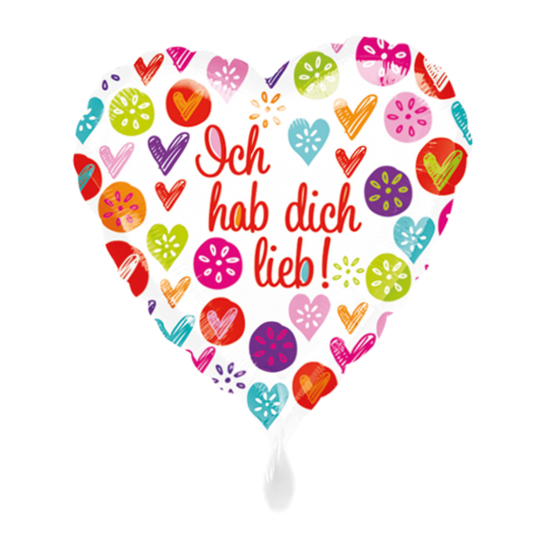 1 Ballon - Ich hab dich lieb