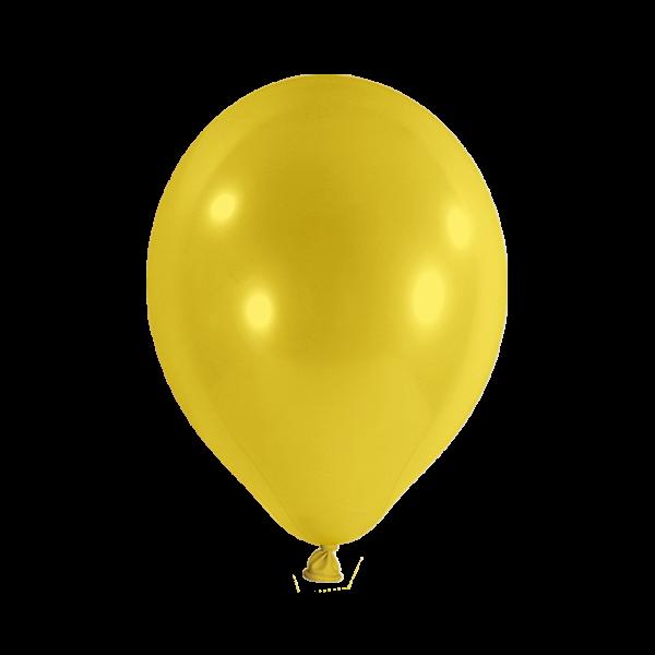 100 Luftballons - Ø 30cm - Gelb