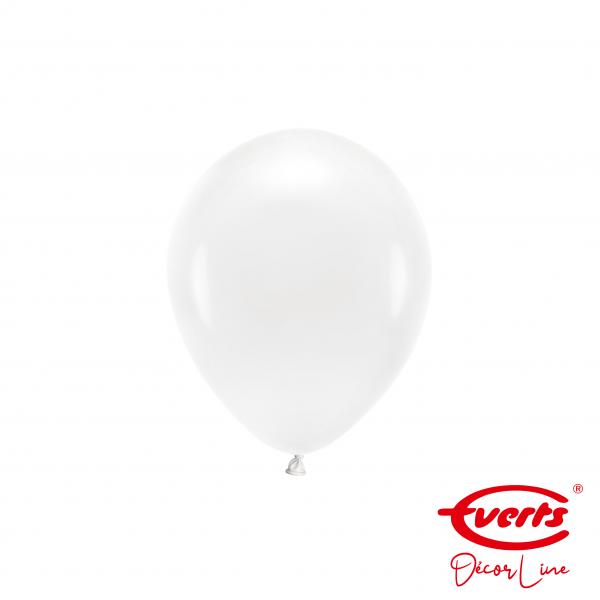 100 Miniballons - DECOR - Ø 13cm - Frosty White