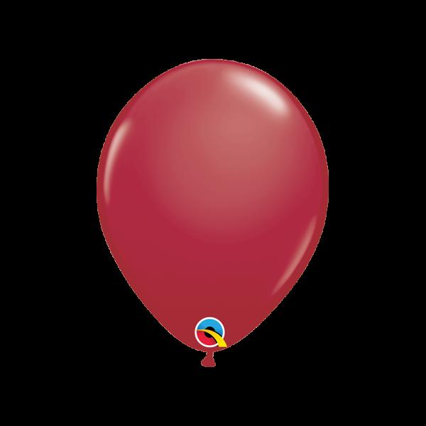 100 Luftballons - Ø 27cm - Maroon