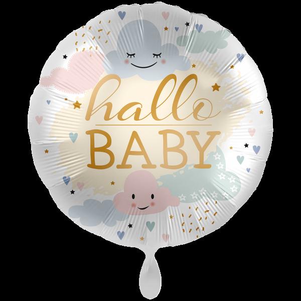 1 Ballon XXL - Hallo Baby