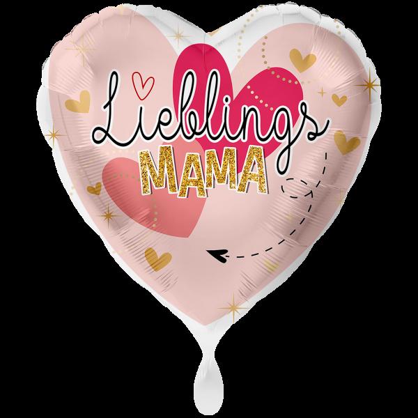 1 Ballon XXL - Lieblingsmama