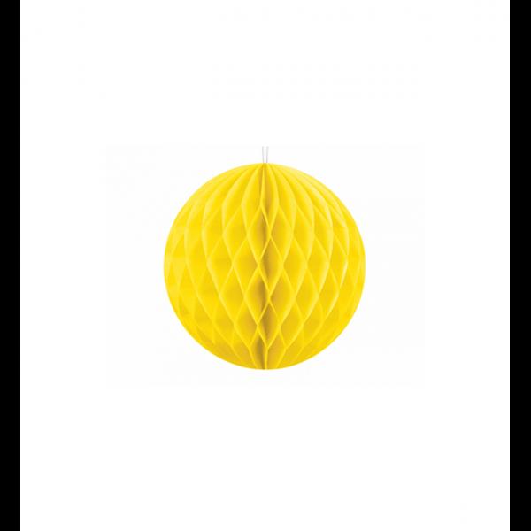 1 Wabenball - Ø 10cm - Gelb