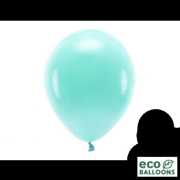 10 ECO-Luftballons - Ø 26cm - Dark Mint