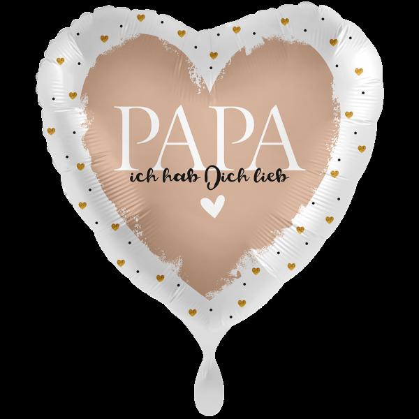 1 Ballon XXL - Papa ich hab Dich lieb