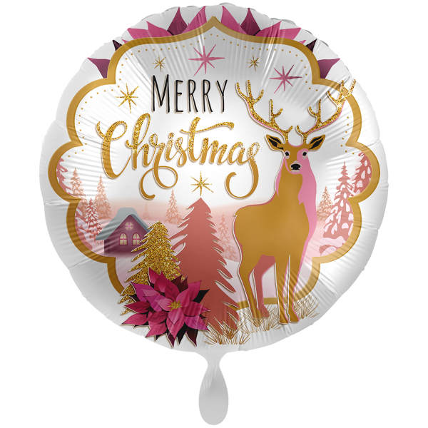 1 Ballon XXL - Christmas Wonderland