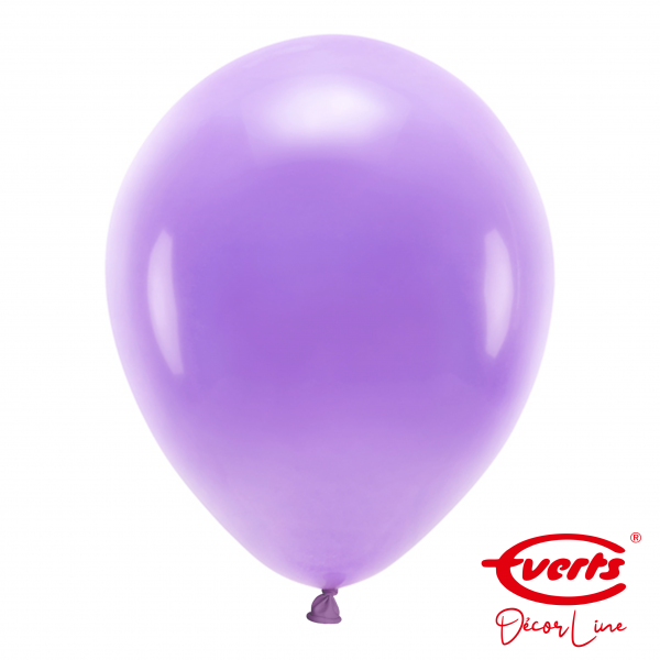50 Luftballons - DECOR - Ø 35cm - Crystal - Purple
