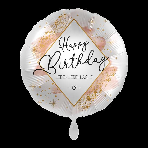 1 Ballon - Birthday Smooth Watercolor
