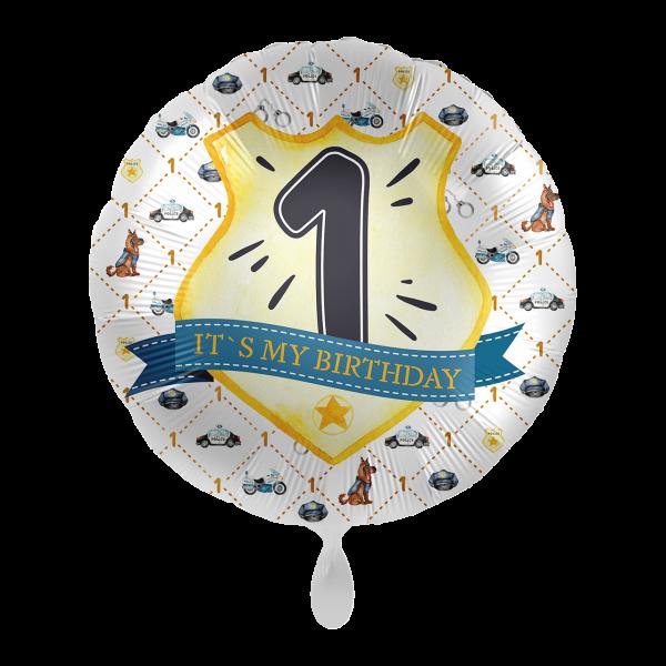 1 Ballon - Police Academy - Eins