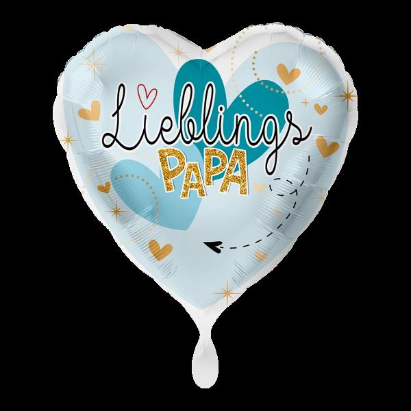 1 Ballon - Lieblingspapa