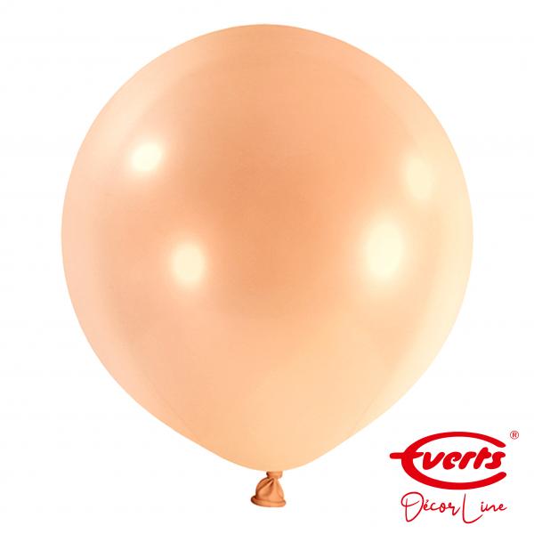 4 Riesenballons - DECOR - Ø 60cm - Pearl & Metallic - Rosegold