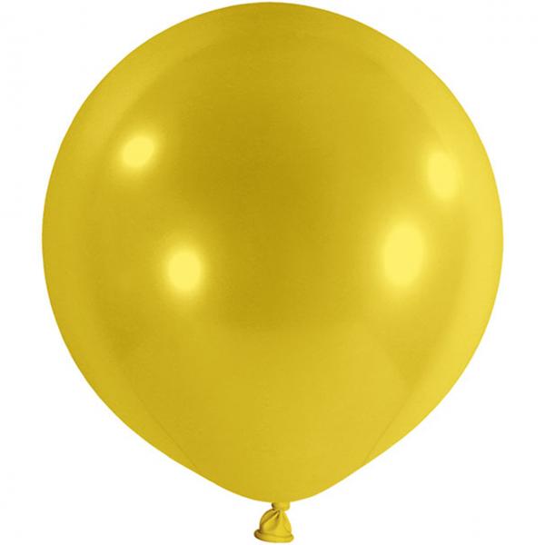 1 Riesenballon - Ø 1m - Gelb