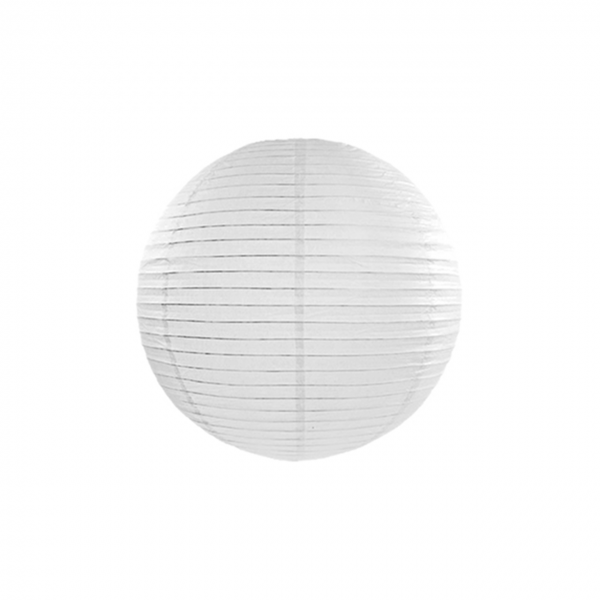1 Lampion XS - Ø 20cm - Weiß