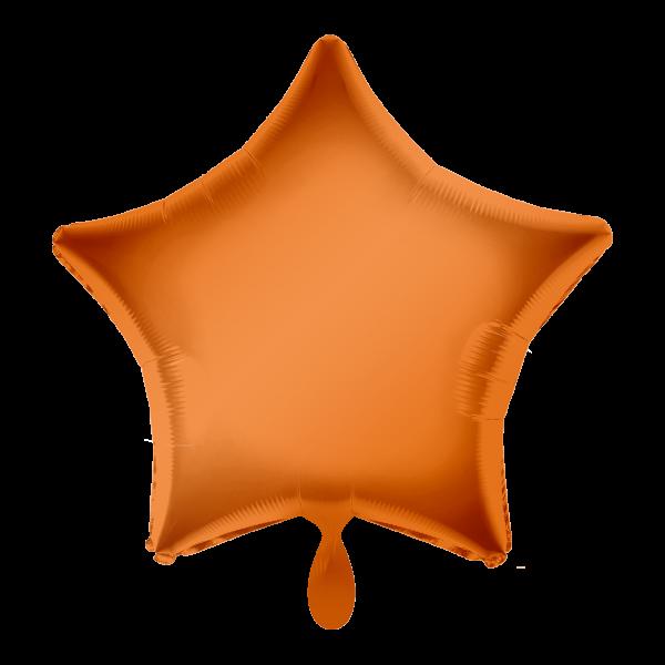 1 Ballon - Stern - Orange