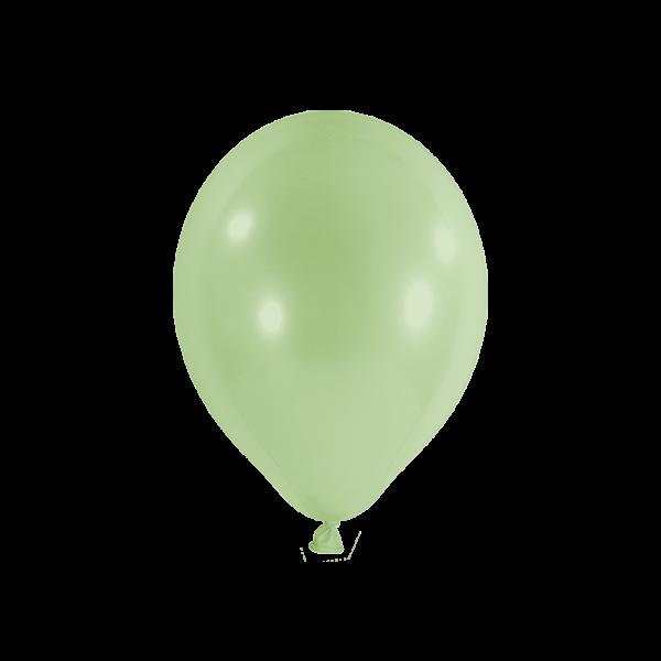100 Luftballons - Ø 23cm - Pastell - Pistazie