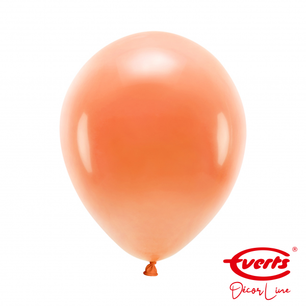50 Luftballons - DECOR - Ø 28cm - Tangerine