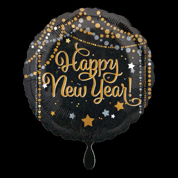 1 Ballon - HNY Sparkle Streamers