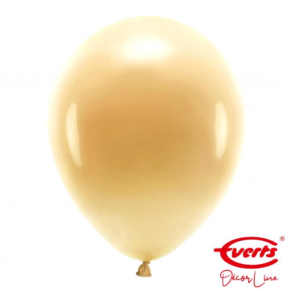 50 Luftballons - DECOR - Ø 35cm - Pearl & Metallic - Gold