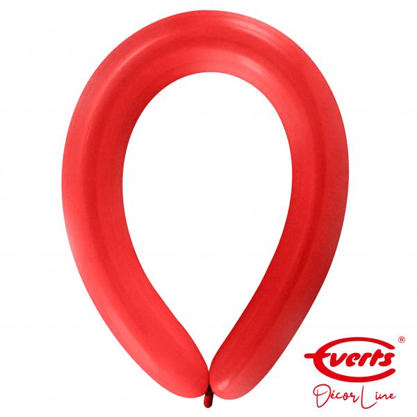 50 Modellierballons - DECOR - E360 - Apple Red