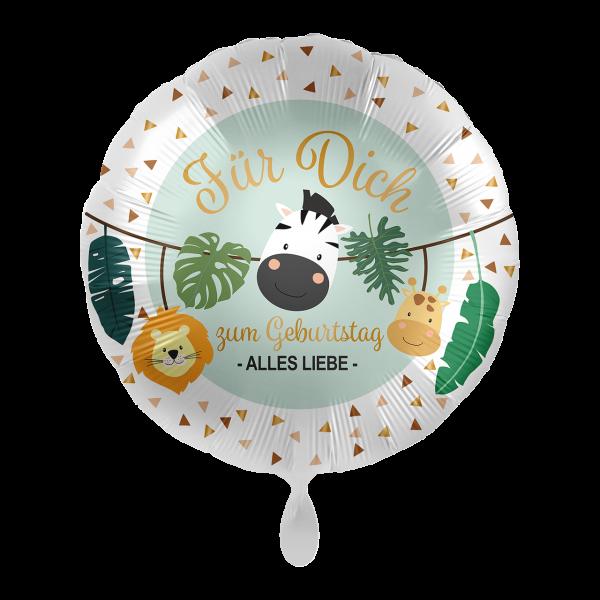 1 Ballon - Jungle Friends - Für Dich