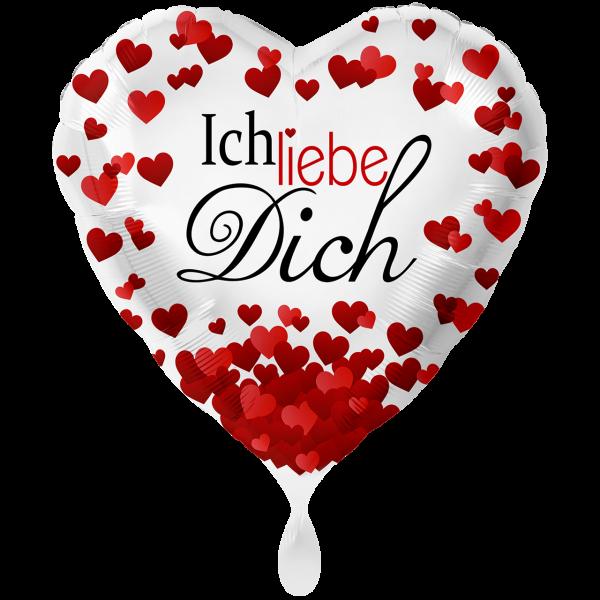 1 Ballon XXL - Ich liebe Dich
