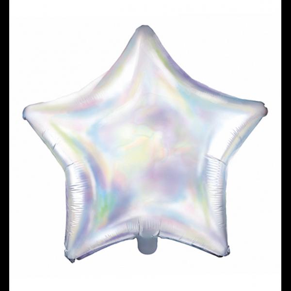 1 Ballon - Stern - Iridescent