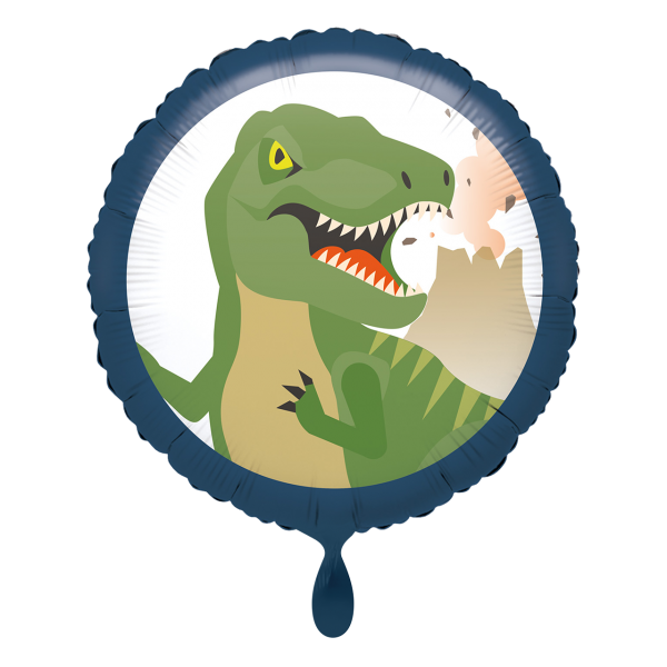 1 Ballon - Happy Dinosaur