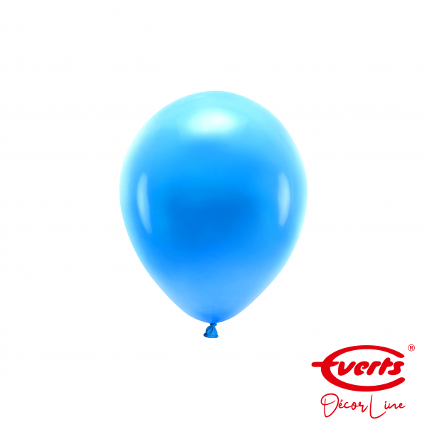 100 Miniballons - DECOR - Ø 13cm - Pearl & Metallic - Bright Royal Blue