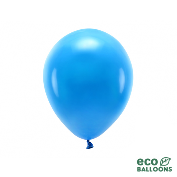 10 ECO-Luftballons - Ø 26cm - Blue