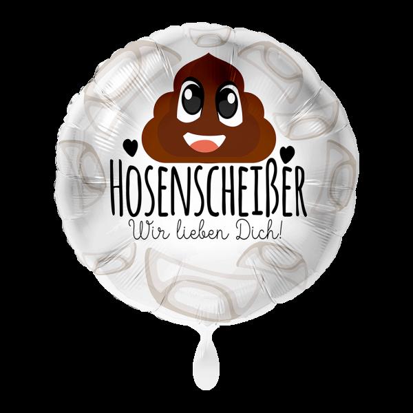 1 Ballon - Hosenscheißer