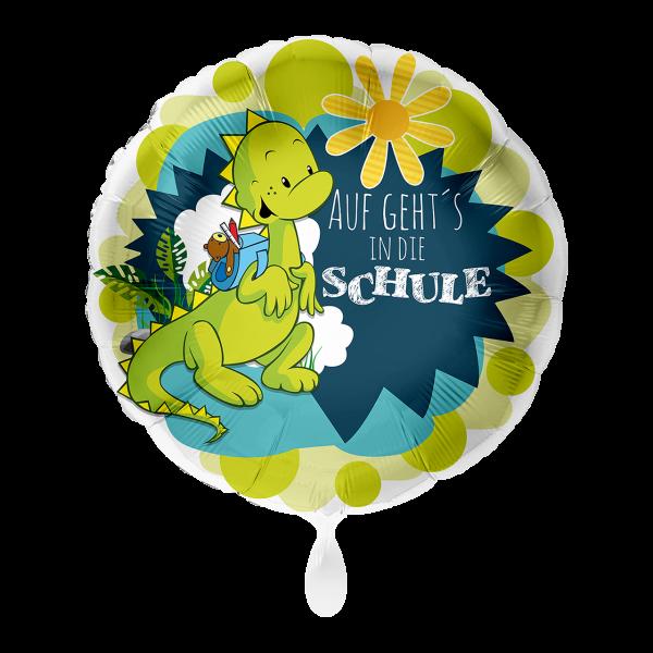 1 Ballon - Auf geht´s in die Schule